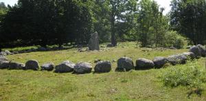Tio viktiga platser att besöka: Kiviksgraven Ängakåsa gravfält