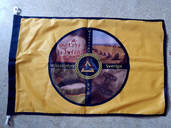 Fasadflagga NAS DIstrikt SYD