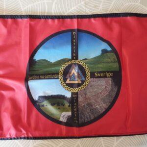 Fasadflagga Distrikt Mälardalen