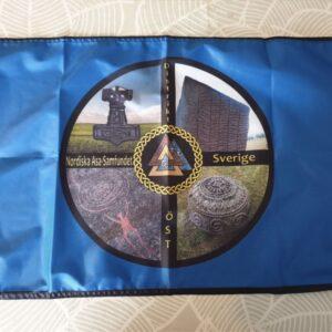 Fasadflagga NAS Distrikt Öst