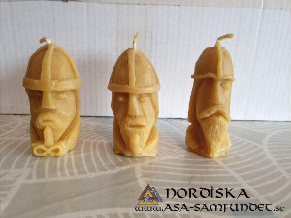 Bivaxljus Oden, Tor, Frej
