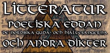 Litteratur Poetiska Eddan