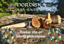 Nordiska Asa-samfundet önskar alla en trevlig Midsommar