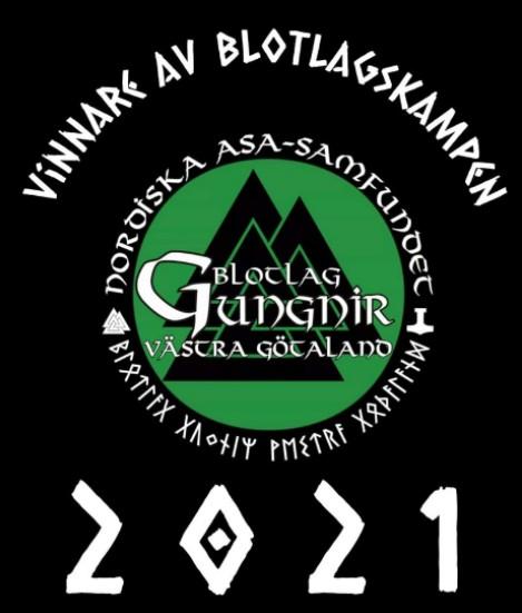 Sommarblot 2021 Årets vinnare i Blotlagskampen var Gungnir, Västra Götaland