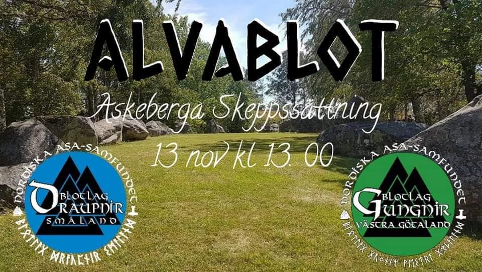 NAS Blotlag Gungnir och Draupnir Bjuder På Alvablot 13 November 2021