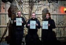 Tre nya ceremoniförrättare